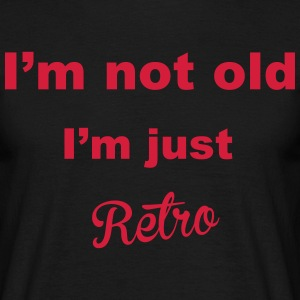 Retro T-shirts - Herre-T-shirt