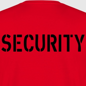Security T-shirts - Herre-T-shirt