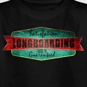 Longboarding satisfaction guaranteed  Tee shirts - T-shirt Enfant