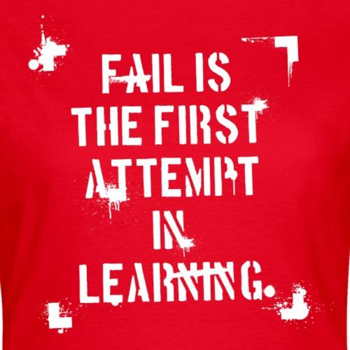 Fail is - weiß
