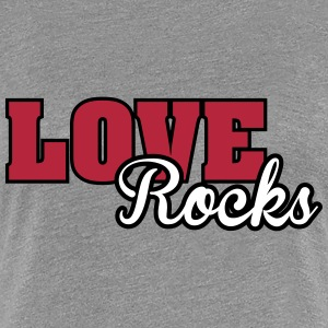 Love rocks T-shirts - Vrouwen Premium T-shirt