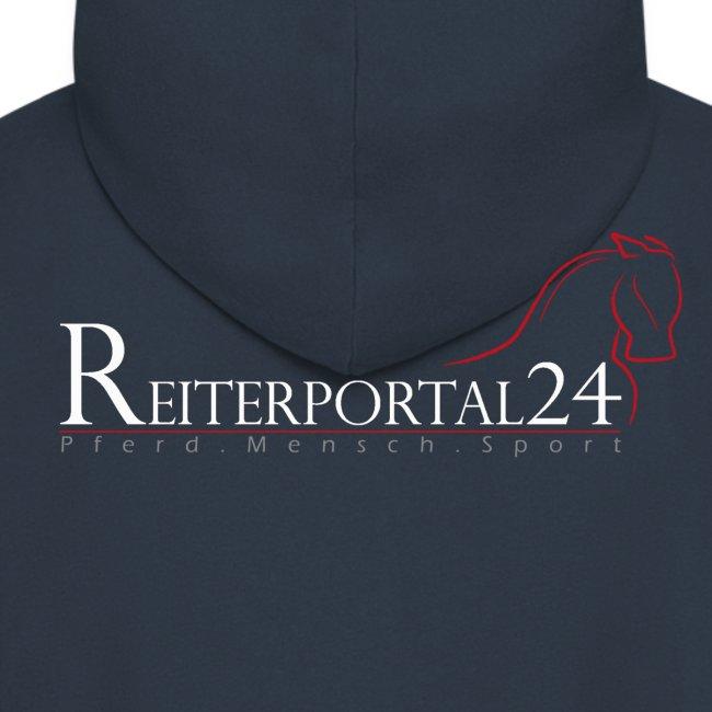 Reiterportal24 Männer Kapuzenjacke navy