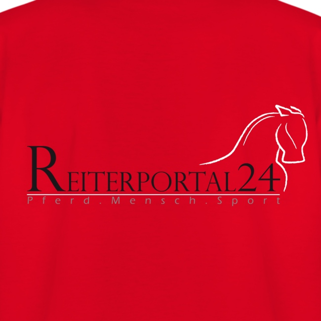 Reiterportal24 Kinder T-Shirt rot