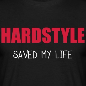Hardstyle Saved Me T-shirts - Herre-T-shirt