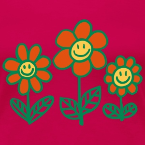 Flower Power von Cheerful Madness!! T-Shirts - Frauen Premium T-Shirt