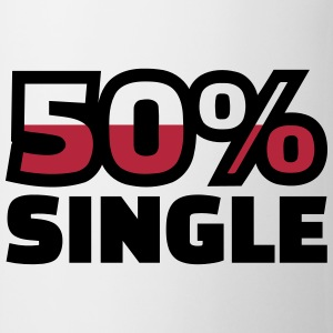 50% Single Flaschen & Tassen - Tasse