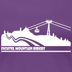 Fichtel Mountain Riders - Frauen Premium T-Shirt
