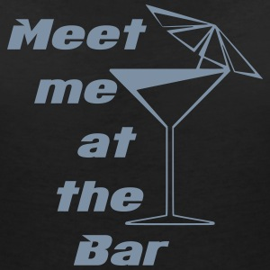 Meet me at the Bar T-Shirts - Women's V-Neck T-Shirt