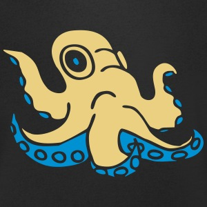 Krake octopus Tintenfisch squid ocean water wasser T-Shirts - Men's V-Neck T-Shirt