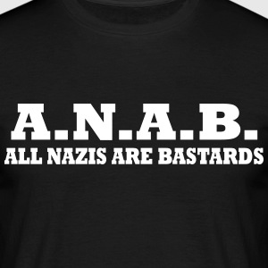 ALL NAZIS ARE BASTARDS Tee shirts - T-shirt Homme