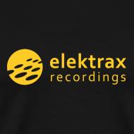 Design ~ Elektrax Recordings label t-shirt. Yellow Logo