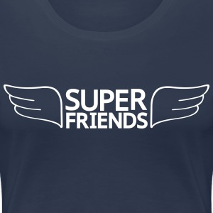 super friends super venner T-skjorter - Premium T-skjorte for kvinner