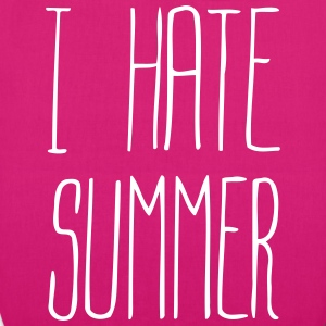 I hate summer it(1c) Borse & zaini - Borsa ecologica in tessuto