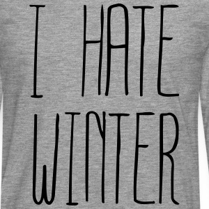 I hate Winter (1c) Long sleeve shirts - Men's Premium Longsleeve Shirt