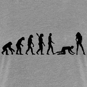 Evolution Ehe T-Shirts - Frauen Premium T-Shirt