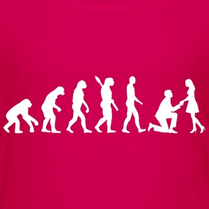 Evolution Heiratsantrag T-Shirts - Kinder Premium T-Shirt