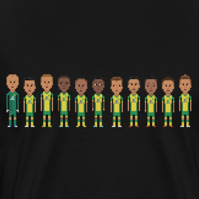 Canaries from Norwich 2013/2014