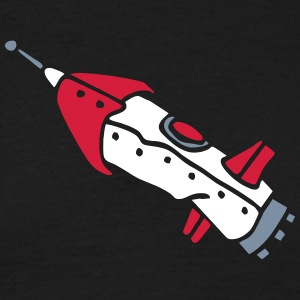 space shuttle space ship Rakete rocket satellite T-Shirts - Men's T-Shirt