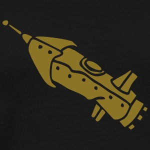 space shuttle space ship Rakete rocket satellite T-Shirts - Men's Premium T-Shirt