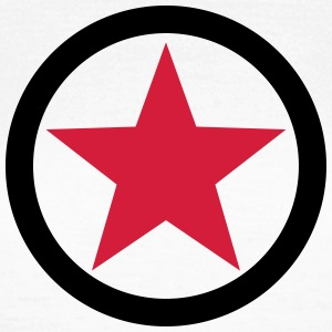 Star Revolution Circle Rebel Anarchy Fight Left  Magliette - Maglietta da donna
