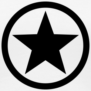 Star circle Anarchy Master Black Rebel Revolution T-Shirts - Women's Premium T-Shirt