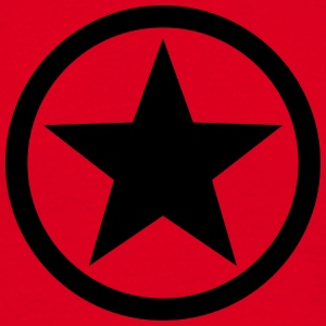 Star circle Anarchy Master Black Rebel Revolution T-shirts - T-shirt herr