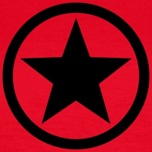 Star circle Anarchy Master Black Rebel Revolution Tee shirts - T-shirt Femme