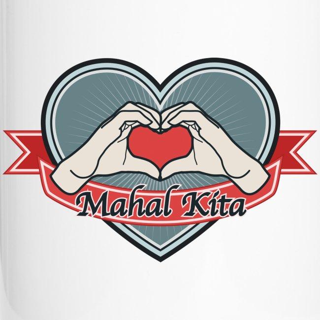 "heart-blue ""Mahal kita"""