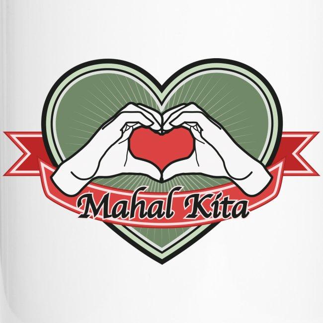 "heart-green ""Mahal kita"""