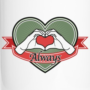 heart-green Always - Thermobecher