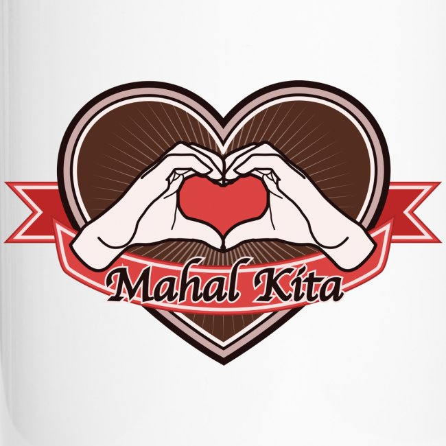 "heart-brown ""Mahal kita"""
