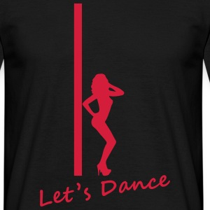 Pole Dance T-shirts - T-shirt herr
