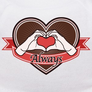 heart-brown Always - Teddy