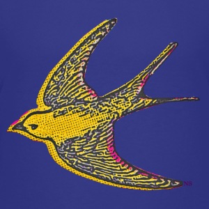 Yellow bird Shirts - Teenage Premium T-Shirt