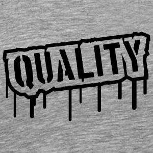Quality Stamp Logo Tee shirts - T-shirt Premium Homme