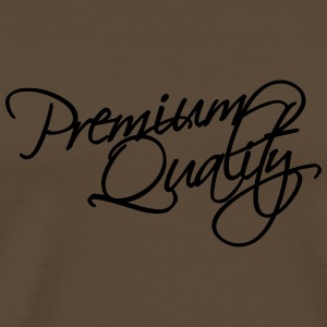 Premium Quality Text Design T-shirts - Herre premium T-shirt