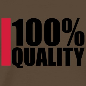 100 Procent Quality Design T-shirts - Mannen Premium T-shirt