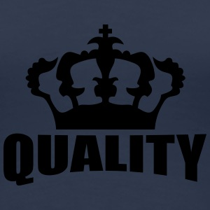 Quality Crown Design Camisetas - Camiseta premium mujer