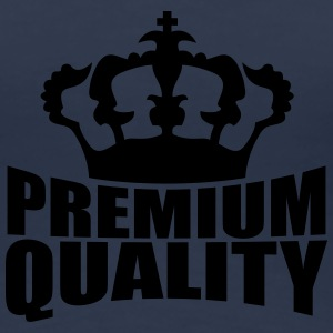 Premium Quality Crown Design T-shirts - Dame premium T-shirt