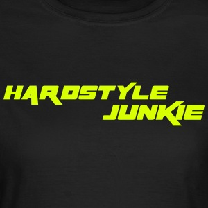 Hardstyle Junkie T-shirts - Dame-T-shirt