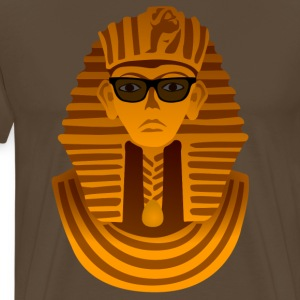 Pharaoh with sunglasses  T-Shirts - Men's Premium T-Shirt