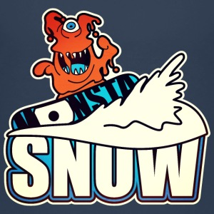 Wintersport: Monster-Boarder Camisetas - Camiseta premium niño