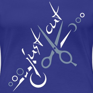 just cut T-Shirts - Frauen Premium T-Shirt