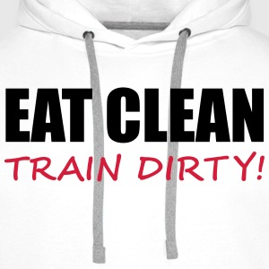 Train Dirty Sweatshirts - Herre Premium hættetrøje