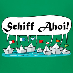 Schiff Ahoi ! T-Shirts - Teenager Premium T-Shirt
