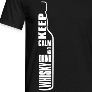 Keep Calm and Drink Whisky Single Malt Shirt T-Shirts - Männer T-Shirt