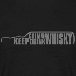 Keep Calm and Drink Whisky Islay T-Shirt - Mannen T-shirt