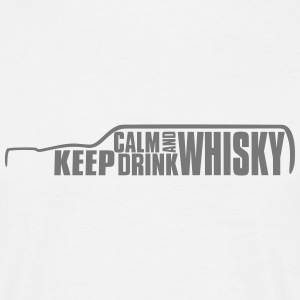 Keep Calm and Drink Whisky Islay T-Shirt Tee shirts - T-shirt Homme
