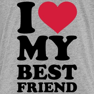 I love my best friend T-Shirts - Kinder Premium T-Shirt