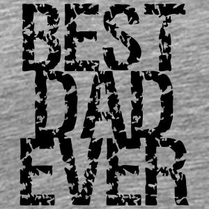 Best Dad Ever Stamp Design T-Shirts - Männer Premium T-Shirt